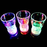 dipshop 6 LED Light Color Flashing Beer Mug Drink Cup For Party Decorative