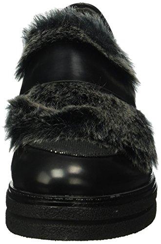 060 Noir Tamaris platinum black Mocassins Femme 24700 wqYYaBfP
