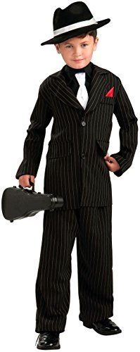 1920 Gangsters Costumes (Forum Novelties Littlest Gangster Child Costume, Medium)