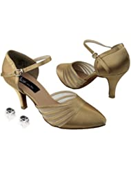Ladies Women Ballroom Dance Shoes from Very Fine CD6033M with HP 2.75 Heel