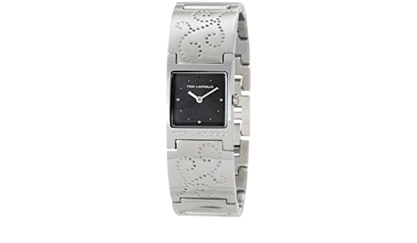 Amazon.com: Ted Lapidus Womens Quartz Metal and Alloy Casual Watch, Color:Silver-Toned (Model: C0098RNPW): Watches