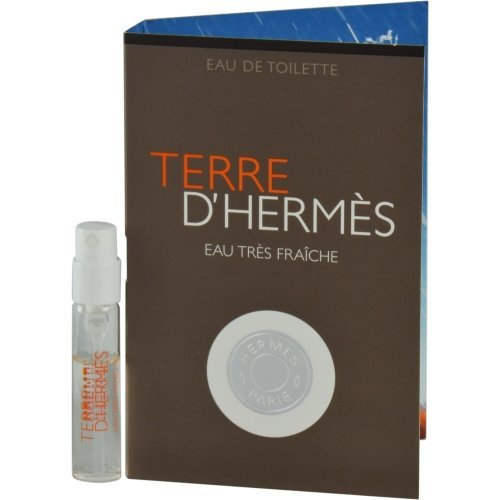 TERRE D'HERMES EAU TRES FRAICHE by Hermes EDT SPRAY VIAL ON CARD for MEN (Package Of 2) by Hermes