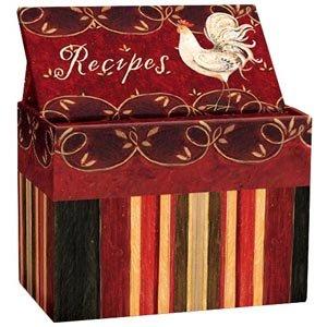 (Camborne Rooster Recipe Card Box)