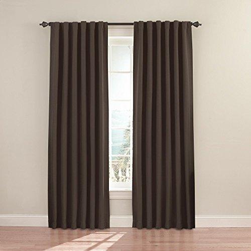 Eclipse Blackout Curtain 63 Inch Mushroom