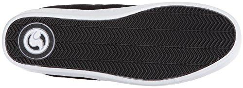 Chaussure DVS Chico Brene Pressure SC - Signature Series Noir Blanc Suède rje1QxaLS