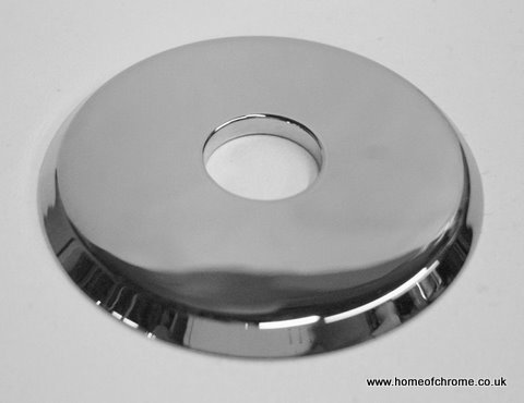 2' Dia x 15mm Centre Hole Chrome Pipe Cover Made From Solid Brass Homeofchrome 610696977816
