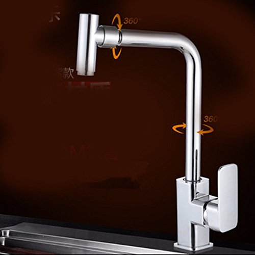 11 Hlluya Professional Sink Mixer Tap Kitchen Faucet The copper, kitchen, hot and cold, turn to the sink faucet 6