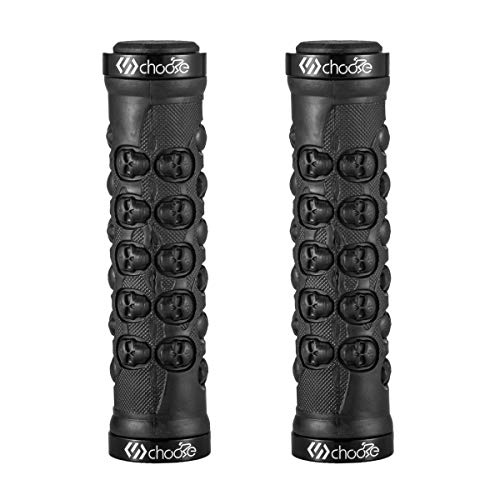 Choose Mountain Bike Grips Bicycle Handlebar Grips Double Lock on MTB Grips BMX Folding Bike Grips
