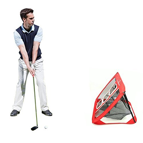 YUYUGO Golf Chipping Net Collapsible Trainning Target Net Practice In/Outdoor Bag