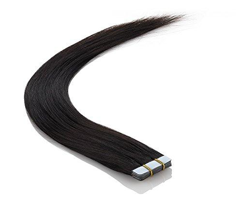 Echthaar Tape On / In Extensions Haarverlängerung 60cm 10 Tressen