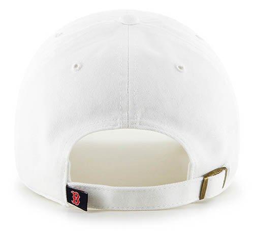 '47 Brand MLB Boston Red Sox Clean Up Cap - White