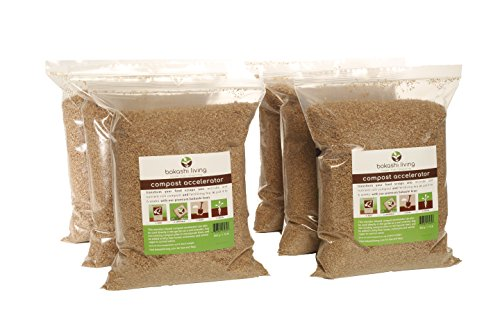 10.5 lbs Premium Bokashi Bran (Compost Accelerator) (1 Year Supply)