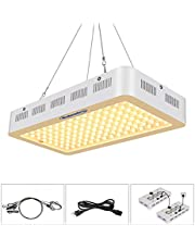 Roleadro LED Grow Light, 1200W 2nd Generation Plant Light Full Spectrum for Indoor Greenhouse Hydroponic Plants Veg and Flower