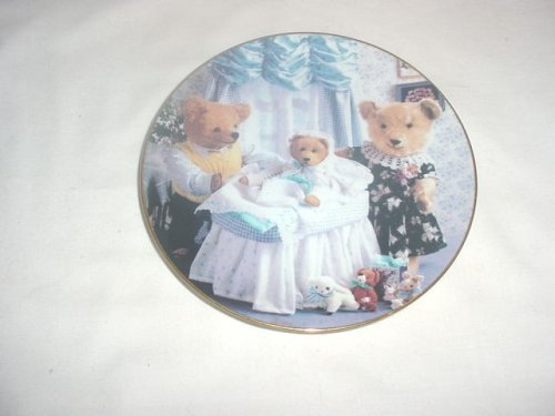 Family Addition from Bialosky Bear & Friends Collector Plate