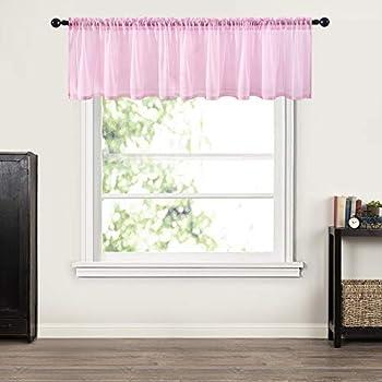 Amazon Com Trend Lab Cupcake Window Curtain Valance Pink