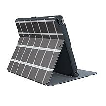 Speck iPad Air 2 StyleFolio Windowpane Plaid Black & White