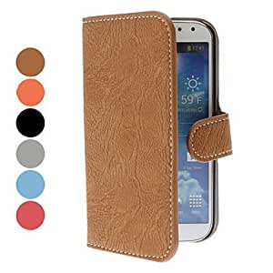 DUR Simple Leopard Grain Leather Case for Samsung Galaxy Note I9220(Assorted Color) , Rose
