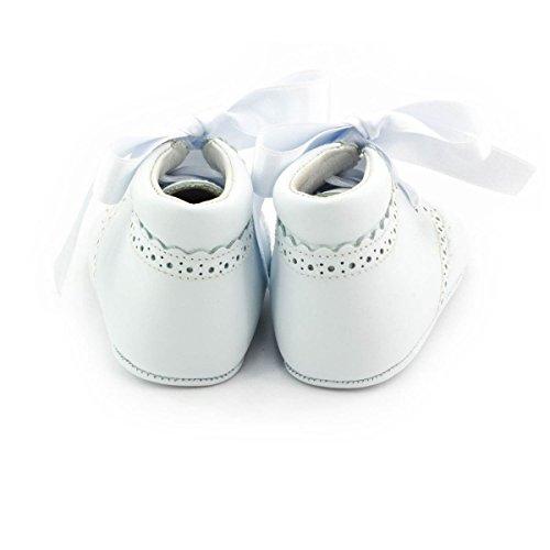 Boni Classic Shoes - Zapatillas de Estar Por Casa de cuero Niño Blanco - blanco