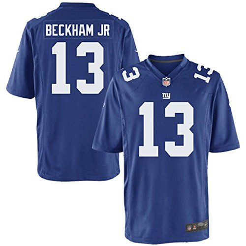 Nike New York Giants Odell Beckham Jr. Blue Game Jersey Men's Size XL by NIKE
