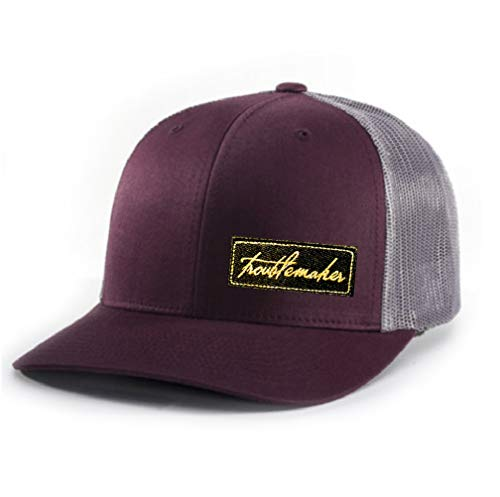 Inspiration Point Troublemaker HAT (Burgundy/Charcoal)