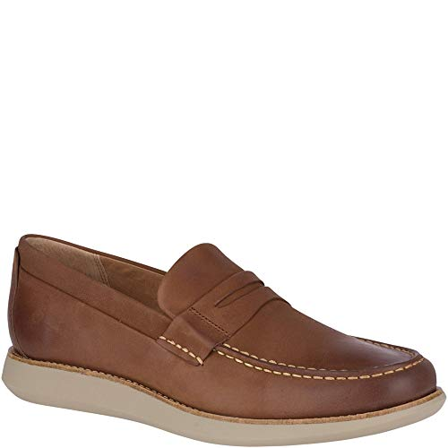 SPERRY Men's Kennedy Penny Loafer, Tan, 10 (Sperrys Loafers Men)