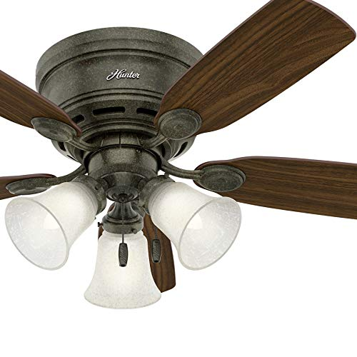 asual Provencal Gold Indoor Ceiling Fan with Light Kit (Certified Refurbished) ()