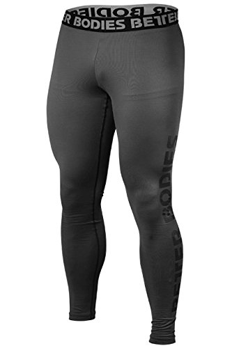 Better Bodies  Herren Logo Tights Iron