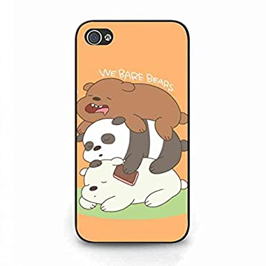 online retailer 3eaf9 1d8b7 We Bare Bears Phone Case,Protective Hard Case,Iphone 4(S) Case ...