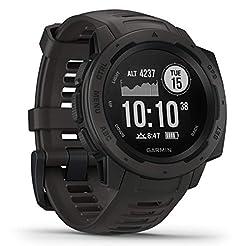Garmin Instinct, Rugged Outdoor Watch wi...