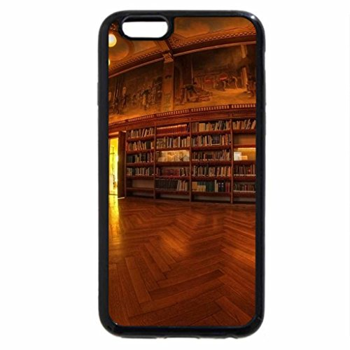 iPhone 6S / iPhone 6 Case (Black) The Old Library