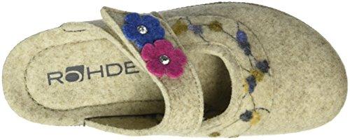 Rohde Neustadt-d, Zuecos para Mujer Beige - Beige (silk 13)
