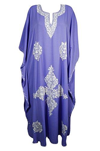 Damen gelb Kleid Purple L Interior Mogul 3 Kimono Gelb 7x15n4qw