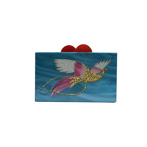 Phoenix Stitching Dinner Acrylic Package Wenl Fashion HvqwZfpf