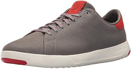 Cole Haan Mens Grandpro Tennis Sneaker Ironstone Ciottoli Aura Arancio / Bianco
