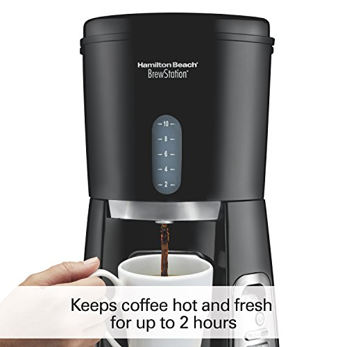Hamilton Beach 10-Cup Coffee Maker, Programmable BrewStation Dispensing Coffee Machine (47380) by Hamilton Beach (Image #2)