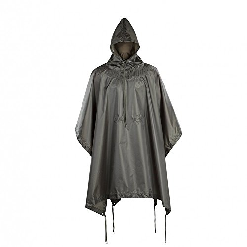 M-Tac Military Ripstop Waterproof Poncho Rain Cover (Olive) ()