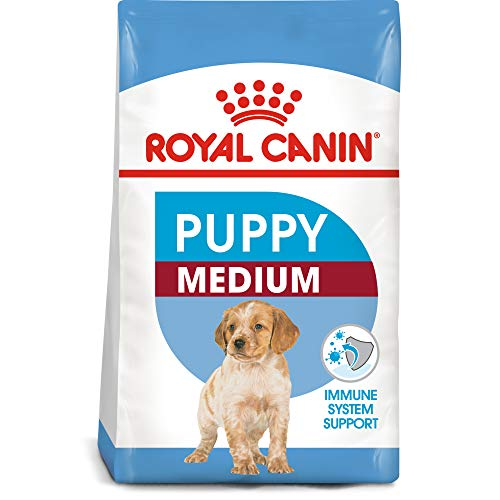 Royal Canin Size Health Nutrition Medium Puppy Dry Dog Food, 30-Pound