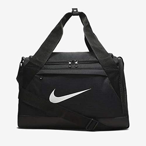 Nike Brasilia Training Duffel Bag (Extra-Small) (Black/White)