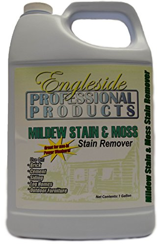 Professional Mildew Stain & Moss Stain Remover (Brick Cleaner Acid Patio)