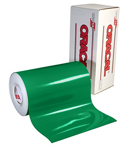 Oracal 651 Glossy Permanent Vinyl 12 Inch x 6 Feet - Green
