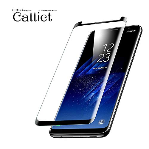 2-Pack Galaxy S9 Plus Screen Protector(6.2), Tempered Glass [9H Hardness][Anti-Fingerprint][Ultra-Clear][Anti-Bubble] Screen Protector,Case Friendly Galaxy S9 Plus