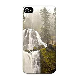 Kathewade Design High Quality Fall Creek Falls Oregon Cover Case With Ellent Style For Iphone 5/5s(nice Gift For Christmas)