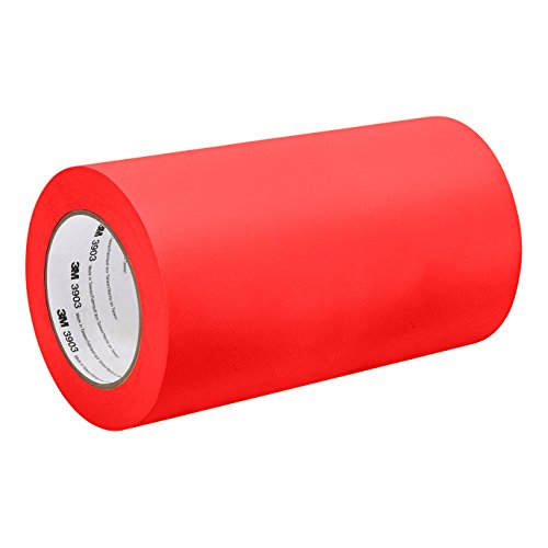 3M 3903 9IN X 50YD RED Red Vinyl/Rubber Adhesive Duct Tape 3