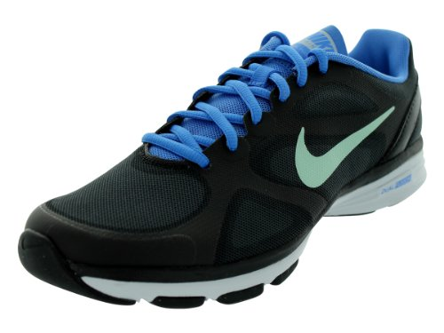 6f72a6a97abd Nike Dual Fusion TR Women s Training Shoes 443837 012 Black Blue - US 5.5