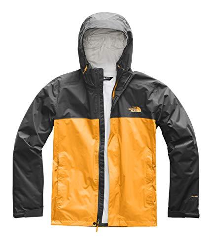 The North Face Men's Venture 2 Jacket Zinnia Orange/Asphalt Grey Large ()