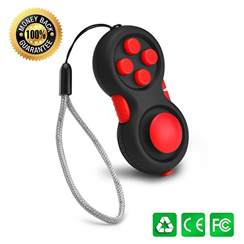 Fidget Pad - the 2nd Generation Fidget Hand Shank Toy with G