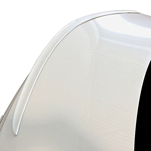 CT616-FM Factory Style Flush Mount Spoiler for Cadillac CT6 - CRYSTAL ABALONE WHITE TRICOAT WA140X (G1W)