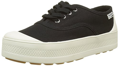 Marshmallow Palladium Baskets Low Sub Femme Black 585 Noir Canvas wqRwpW0r