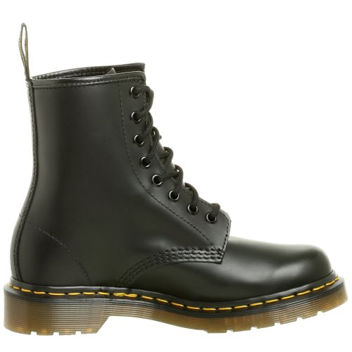 Dr. Marten's Women's 1460 8-Eye Patent Leather Boots, Black Smooth Leather, 7 F(M) UK / 9 B(M) US Women / 8 D(M) US Men - Image 6