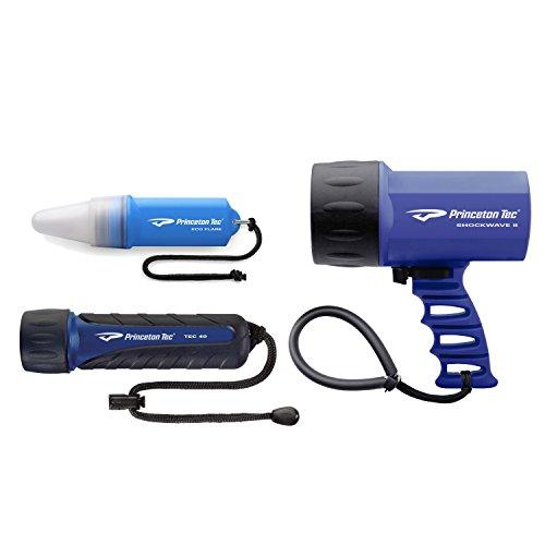 Princeton Tec Tropic Pack Dive Light (Blue) Princeton Blue Flashlight
